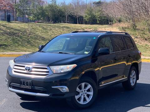 2012 Toyota Highlander for sale at Diamond Automobile Exchange in Woodbridge VA
