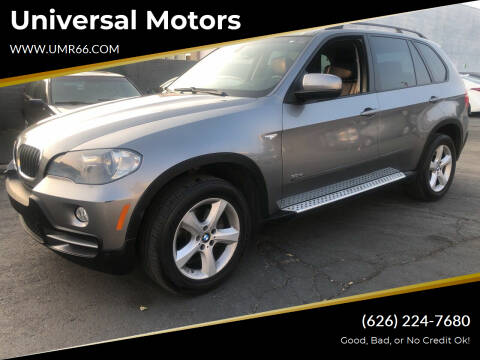 2008 BMW X5 for sale at Universal Motors in Glendora CA