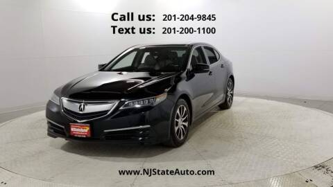 2017 Acura TLX for sale at NJ State Auto Used Cars in Jersey City NJ