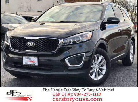 2016 Kia Sorento for sale at DFS Auto Group of Richmond in Richmond VA
