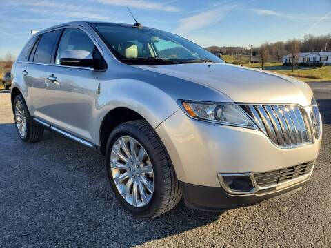 2015 Lincoln MKX for sale at Hatcher's Auto Sales, LLC in Campbellsville KY