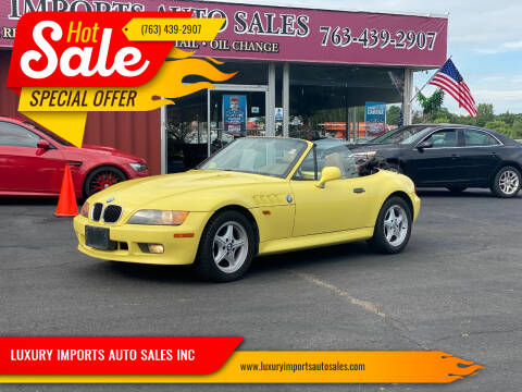 1997 BMW Z3 for sale at LUXURY IMPORTS AUTO SALES INC in North Branch MN