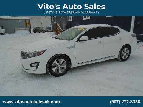 2016 Kia Optima Hybrid for sale at Vito's Auto Sales in Anchorage AK