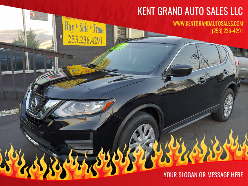 2017 Nissan Rogue for sale at KENT GRAND AUTO SALES LLC in Kent WA