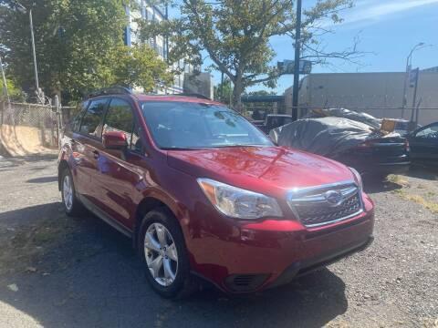 2015 Subaru Forester for sale at Mecca Auto Sales in Newark NJ