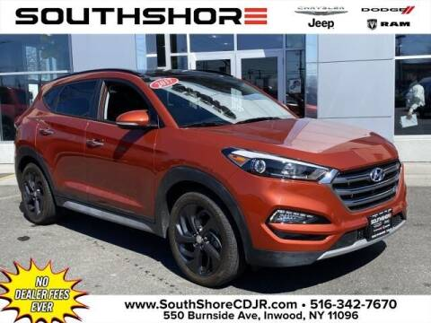 2017 Hyundai Tucson for sale at South Shore Chrysler Dodge Jeep Ram in Inwood NY