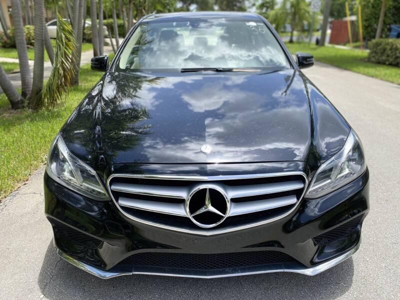 2014 Mercedes-Benz E-Class for sale at CAR UZD in Miami FL
