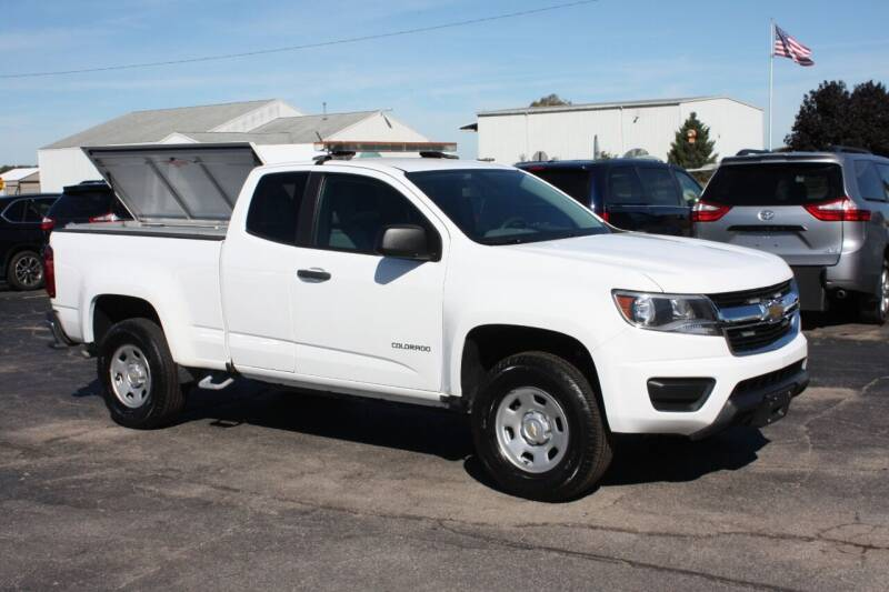 2018 Chevrolet Colorado for sale at New Mobility Solutions in Jackson MI