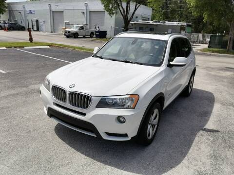 2011 BMW X3 for sale at Best Price Car Dealer in Hallandale Beach FL