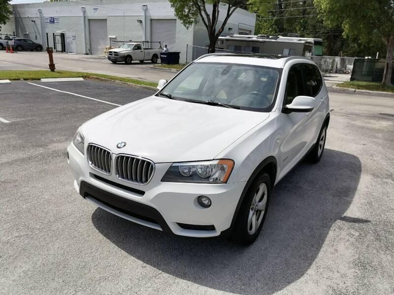 2011 BMW X3 for sale in Hallandale Beach, FL