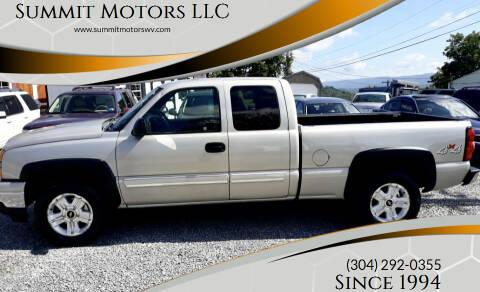 2007 Chevrolet Silverado 1500 Classic for sale at Summit Motors LLC in Morgantown WV