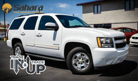 2011 Chevrolet Tahoe for sale at Sahara Pre-Owned Center in Phoenix AZ