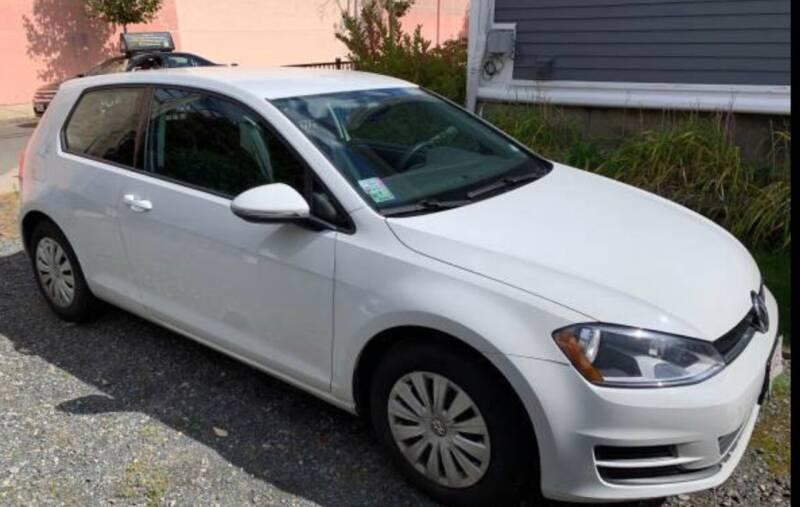 2015 Volkswagen Golf for sale at BORGES AUTO CENTER, INC. in Taunton MA
