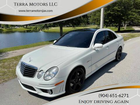 2009 Mercedes-Benz E-Class for sale at Terra Motors LLC in Jacksonville FL
