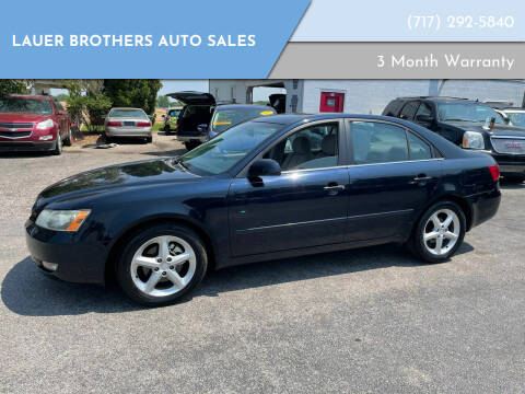 2006 Hyundai Sonata for sale at LAUER BROTHERS AUTO SALES in Dover PA