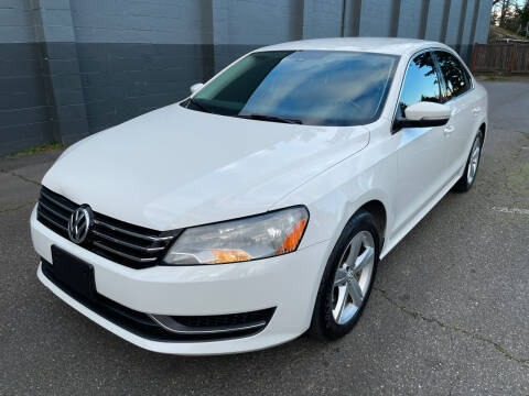 2014 Volkswagen Passat for sale at APX Auto Brokers in Lynnwood WA
