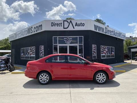 2015 Volkswagen Jetta for sale at Direct Auto in D'Iberville MS