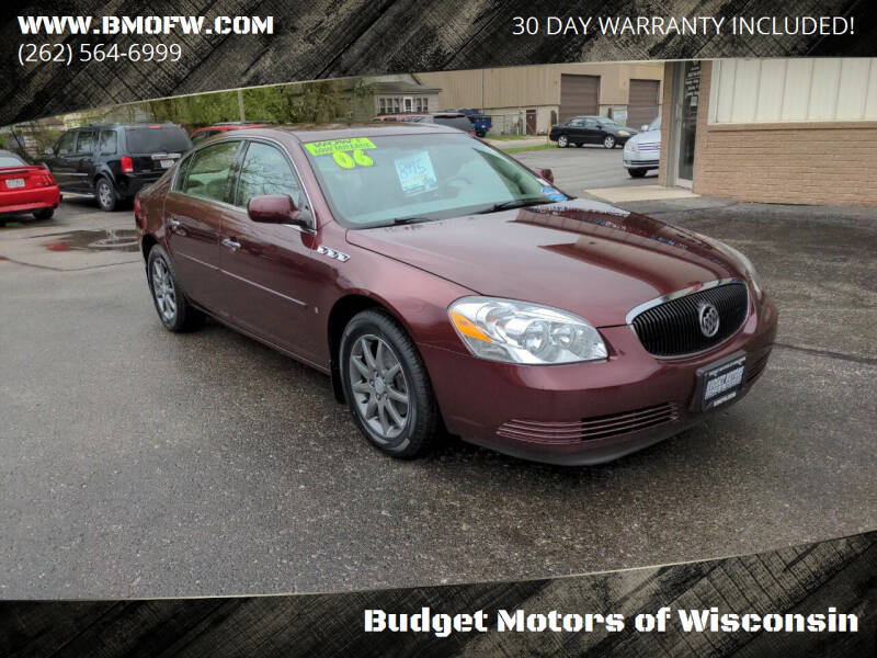 2006 Buick Lucerne for sale at Budget Motors of Wisconsin in Racine WI