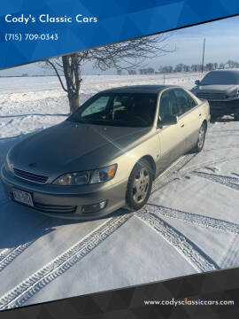 2001 Lexus ES 300 for sale at Cody's Classic Cars - Quality Used Cars in Stanley WI