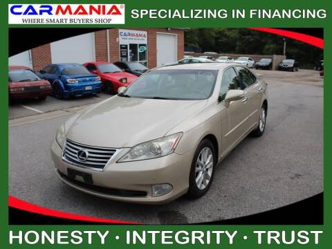 2011 Lexus ES 350 for sale at CARMANIA LLC in Chesapeake VA
