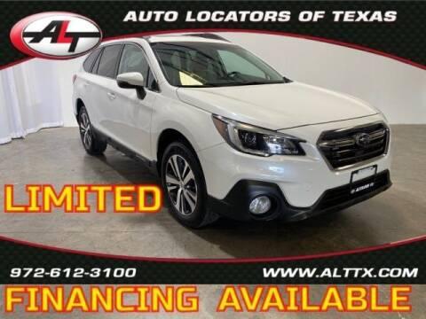 2018 Subaru Outback for sale at AUTO LOCATORS OF TEXAS in Plano TX