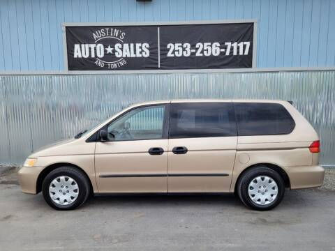 2002 Honda Odyssey for sale at Austin's Auto Sales in Edgewood WA