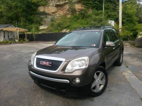 2010 GMC Acadia for sale at Riverside Auto Sales in Saint Albans WV