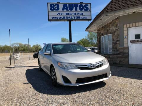 2014 Toyota Camry for sale at 83 Autos in York PA