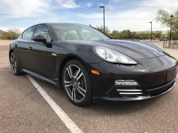 2011 Porsche Panamera for sale at Classic Car Deals in Cadillac MI