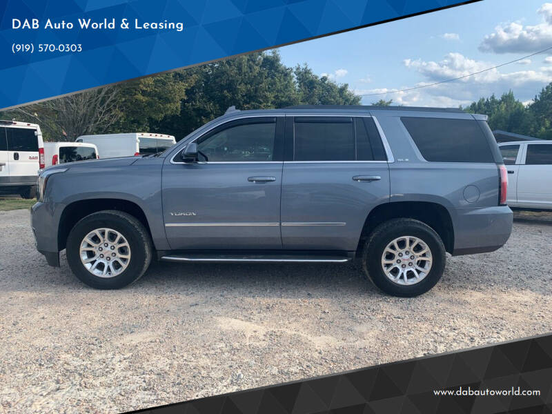 2015 GMC Yukon for sale at DAB Auto World & Leasing in Wake Forest NC