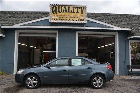 2006 Pontiac G6 for sale at Quality Pre-Owned Automotive in Cuba MO