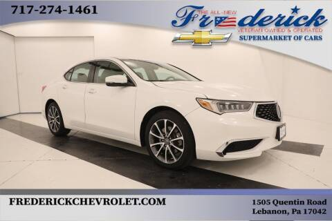 2018 Acura TLX for sale at Lancaster Pre-Owned in Lancaster PA