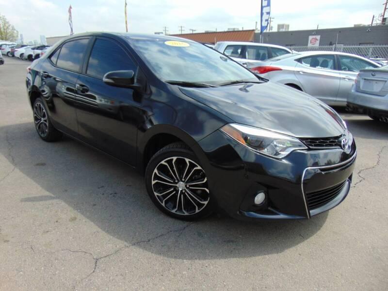 2016 Toyota Corolla for sale at Avalanche Auto Sales in Denver CO