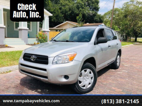2007 Toyota RAV4 for sale at CHECK  AUTO INC. in Tampa FL