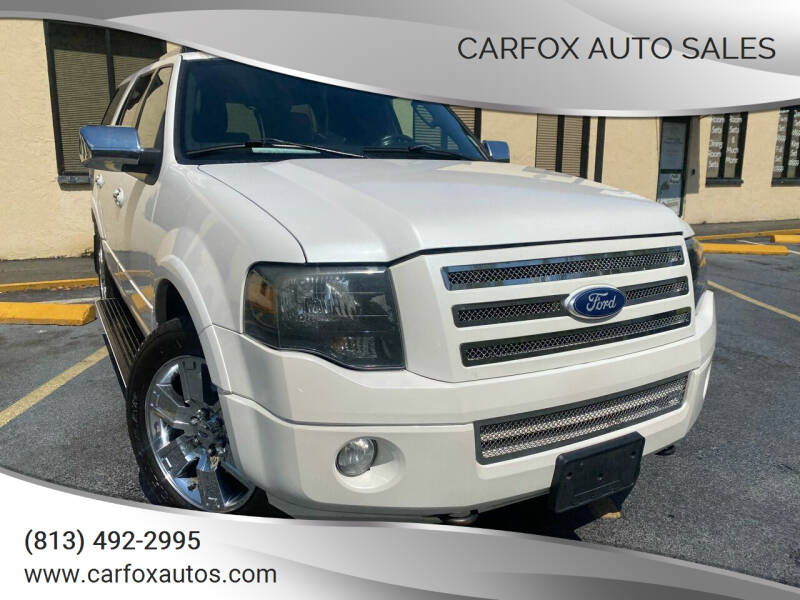 2010 Ford Expedition for sale at Carfox Auto Sales in Tampa FL
