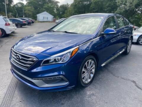 2015 Hyundai Sonata for sale at SOUTH SHORE AUTO GALLERY, INC. in Abington MA