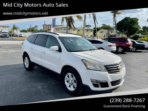 2013 Chevrolet Traverse for sale at Mid City Motors Auto Sales in Fort Myers FL