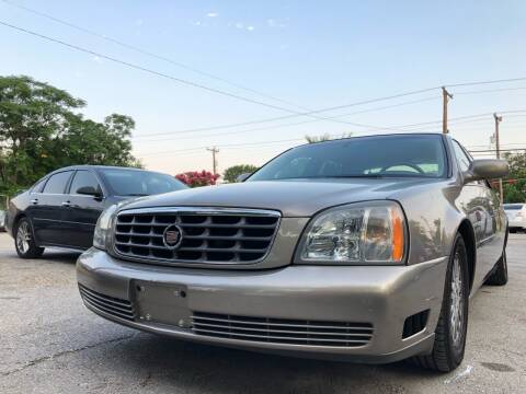 2004 Cadillac DeVille for sale at Approved Auto Sales in San Antonio TX