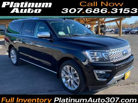 2019 Ford Expedition MAX for sale at Platinum Auto in Gillette WY
