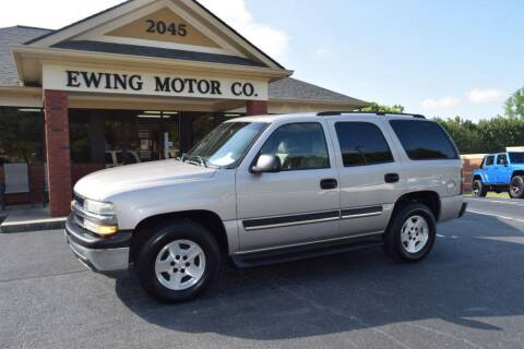 2004 Chevrolet Tahoe for sale at Ewing Motor Company in Buford GA