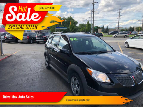 2008 Pontiac Vibe for sale at Drive Max Auto Sales in Warren MI