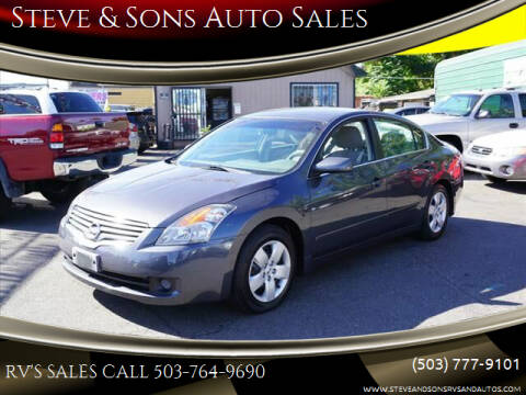2007 Nissan Altima for sale at Steve & Sons Auto Sales in Happy Valley OR