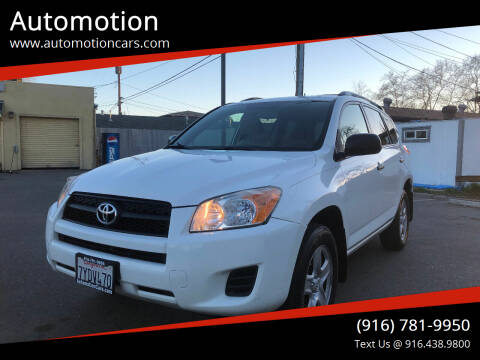 2011 Toyota RAV4 for sale at Automotion in Roseville CA