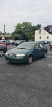 2006 Saturn Ion for sale at Credit Connection Auto Sales Inc. CARLISLE in Carlisle PA