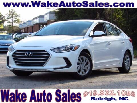 2017 Hyundai Elantra for sale at Wake Auto Sales Inc in Raleigh NC
