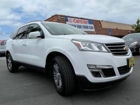 2017 Chevrolet Traverse for sale at CARSTER in Huntington Beach CA