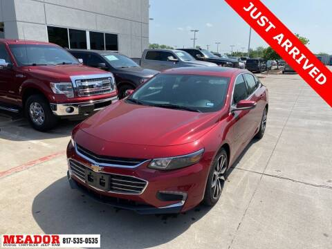 2018 Chevrolet Malibu for sale at Meador Dodge Chrysler Jeep RAM in Fort Worth TX