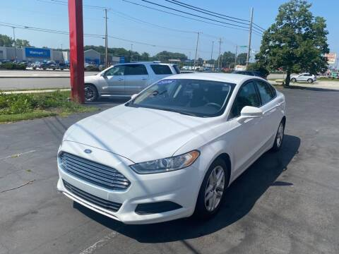 2016 Ford Fusion for sale at Motornation Auto Sales in Toledo OH