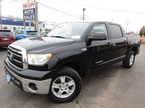 2010 Toyota Tundra for sale at TRI CITY AUTO SALES LLC in Menasha WI