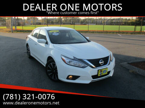 2018 Nissan Altima for sale at DEALER ONE MOTORS in Malden MA
